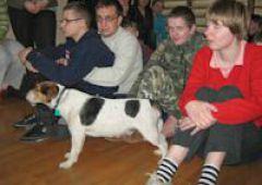 The Blue dog w Ośrodku Szkolno Wychowawczym