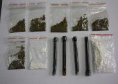 Narkotykowe zatrzymania