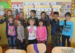 Dzieci z Przedszkola nr 2 integrują się z uczniami szkoły podstawowej