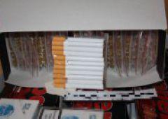 Nielegalne papierosy, ujawnione narkotyki
